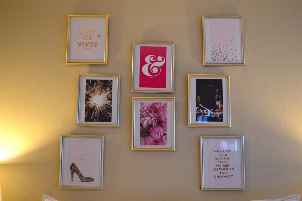 Kate Spade Wall Decor kate spade wall decor | blonde collective | a lifestyle blog